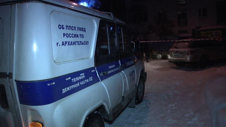 В Архангельске стреляли на Троицком проспекте: двое человек получили ранения