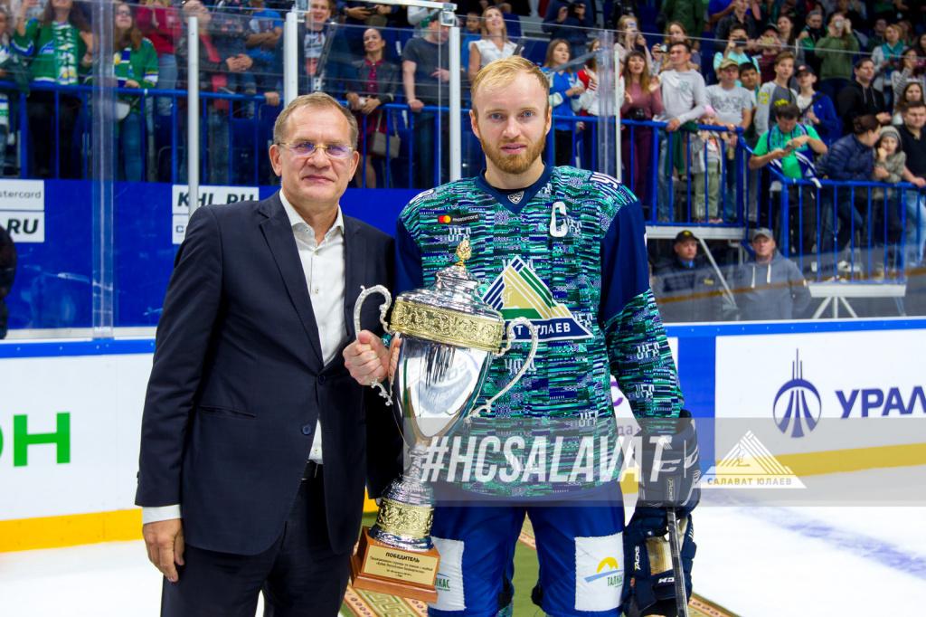 «Салават Юлаев» одержал победу Кубок республики Башкортостан