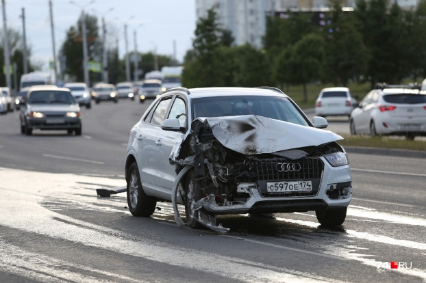 ВодительAudi Q3 говорит, что её машина тоже не подлежит восстановлению