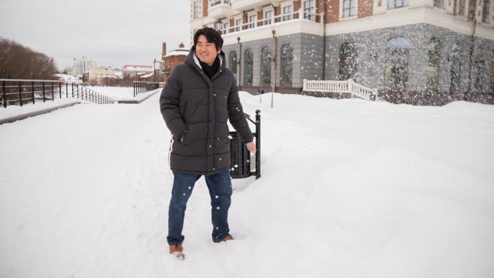 Последний самурай: голливудский актер приехал в Екатеринбург налаживать «братские» связи
