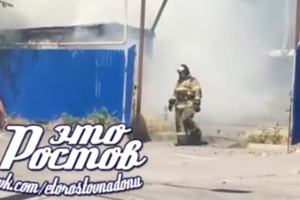 Пожар удалось оперативно потушить