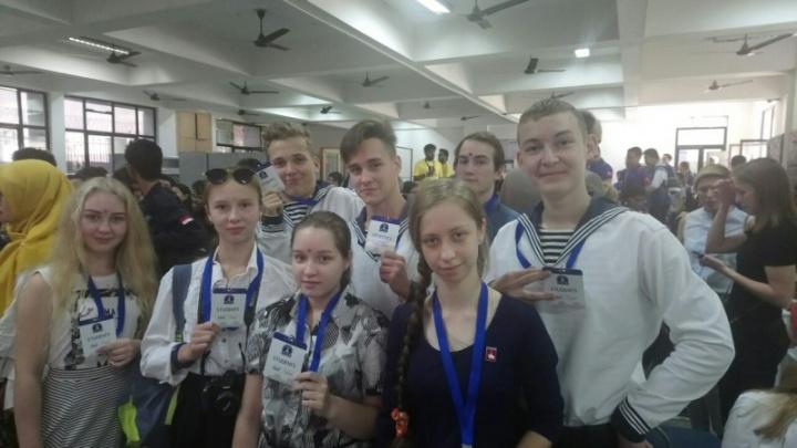 Пермские школьники победили на выставке изобретателей в Индии