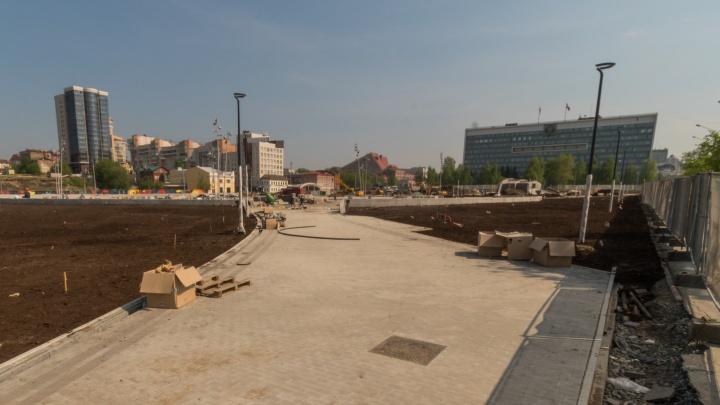 В Перми на реконструкцию эспланады у арт-объекта «Власть» выделят 99 миллионов рублей