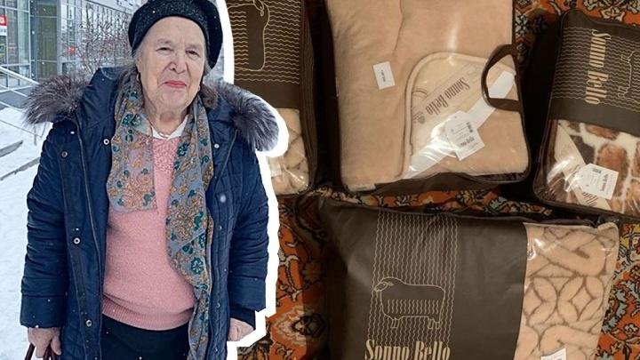 «Закрыли в комнате, забрали паспорт»: 80-летней екатеринбурженке продали постельное белье за 54 тысячи рублей