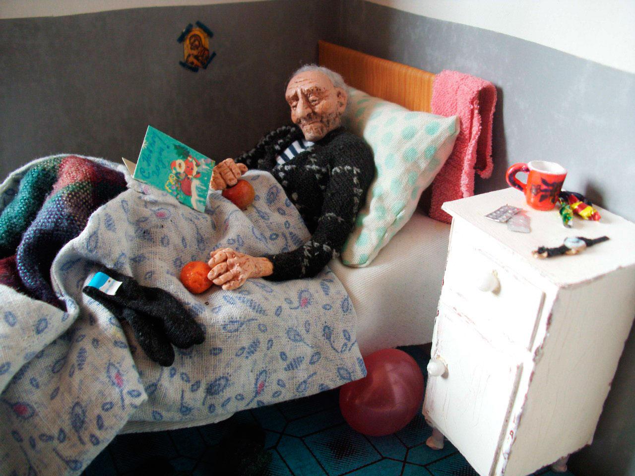 «В Доме престарелых, волонтёры приезжали»