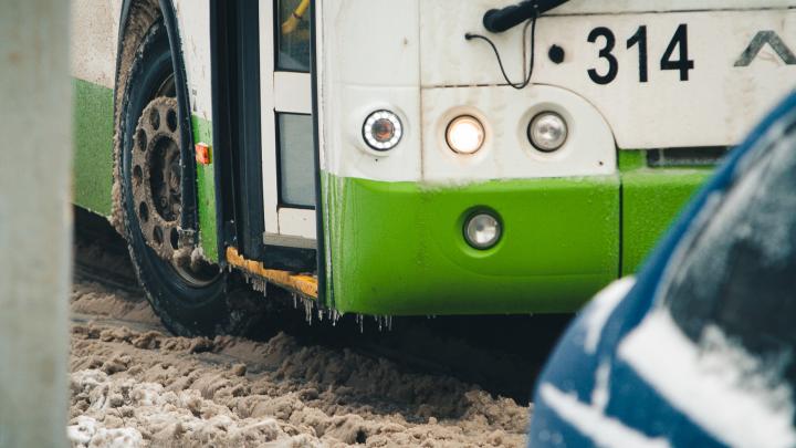 Автобус с 50 жителями ЛНР из-за непогоды застрял на трассе под Гуково