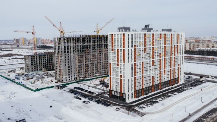 Динамика строительства в ЖК «Клевер парк». Март 2018 года