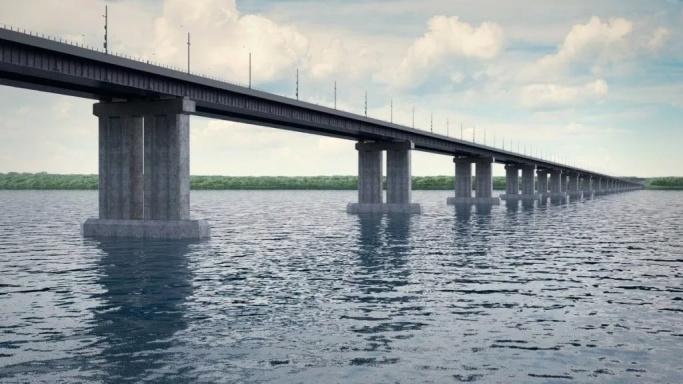 Так будет выглядеть мост