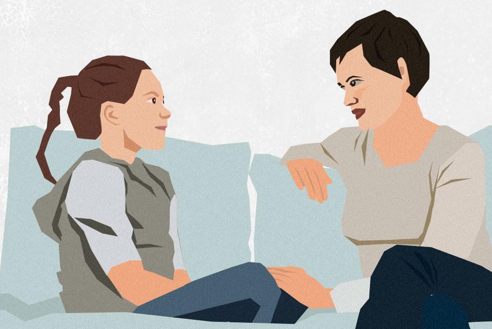 Спокойный разговор о том, что в фильмах все не совсем как в жизни — лучшее, что могут сделать родители в такой ситуации