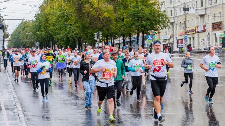 На Пермский международный марафон зарегистрировалось пять тысяч бегунов