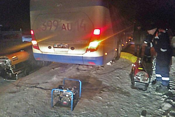 Автобус следовал по маршруту Кемерово — Павлодар