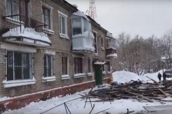 В доме зарегистрировано 44 человека, часть квартир пустует