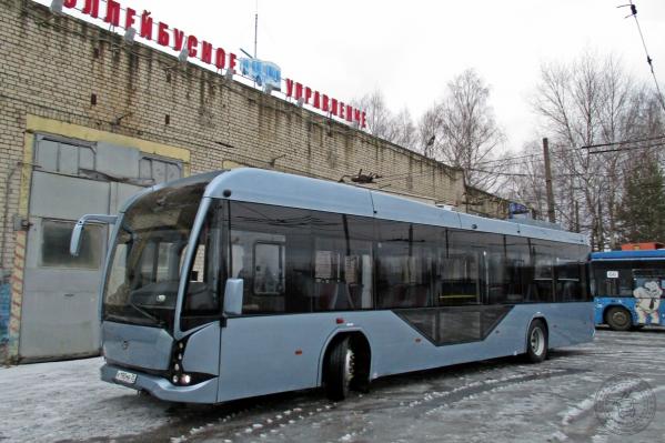 Новая машина будет ездить по троллейбусным маршрутам