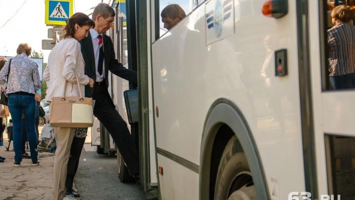 Автобусы из «Волгаря» до станции Красный Кряжок решили не отменять