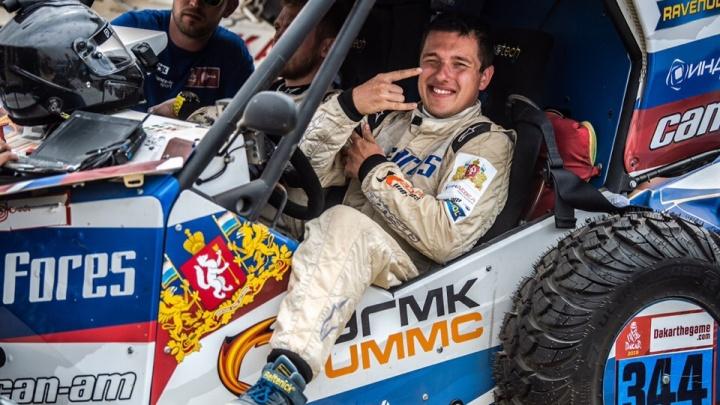 Уральский гонщик Сергей Карякин завоевал бронзу на третьем этапе ралли «Дакар»