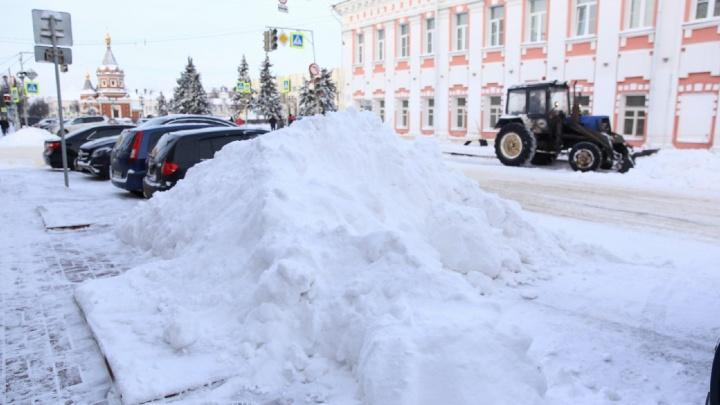 «Ликвидировать последствия будем неделю»: в Ярославле разгребать снег будут во время дождя