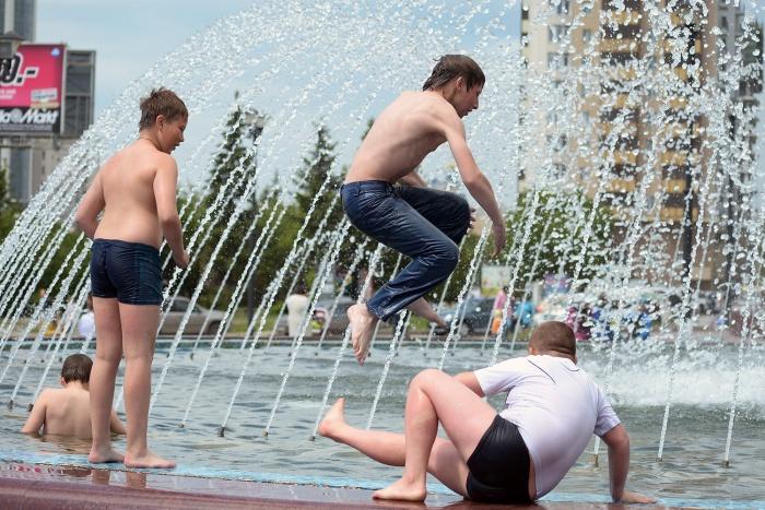 Днём в выходные температура в Новосибирске поднимется до +22...+28 градусов
