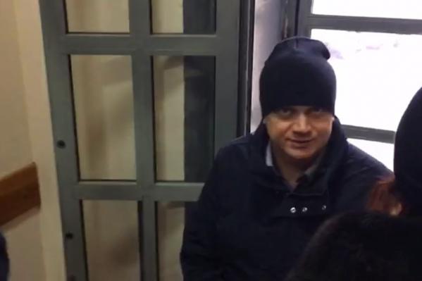 Павел Яромчук в здании суда вел себя очень спокойно и даже улыбался