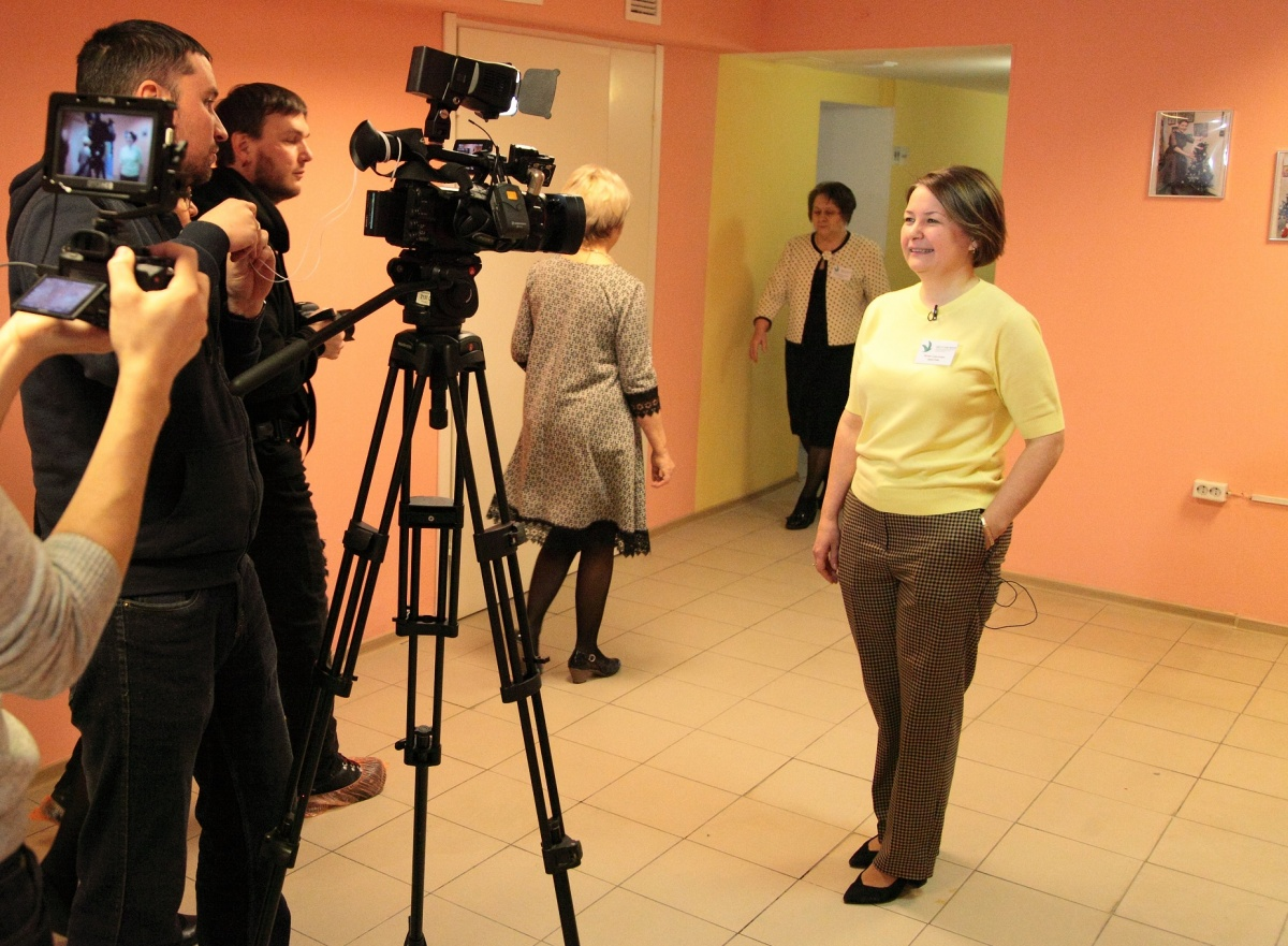 Аристова занимается в проекте «Вместе ради жизни» параллельно с основной работой