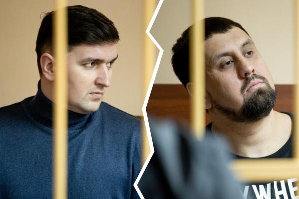 Дмитий Никитенко (слева) и Сардор Зиябов скоро услышат приговор