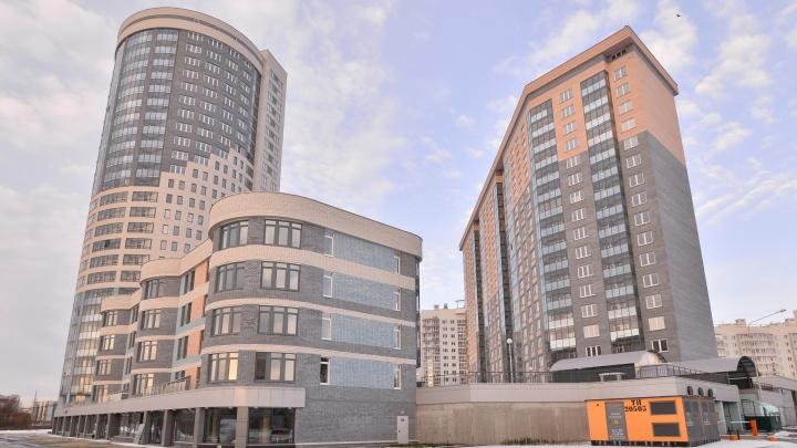 «Атомстройкомплекс» продолжит строительство ЖК «Просторы» на левом берегу Исети