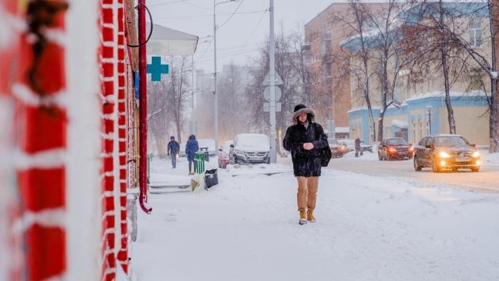 Снегопады и похолодание: синоптики рассказали о погоде в Перми на неделю