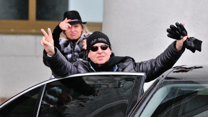 Всем ветра перемен: легендарная группа Scorpions прилетела в Екатеринбург