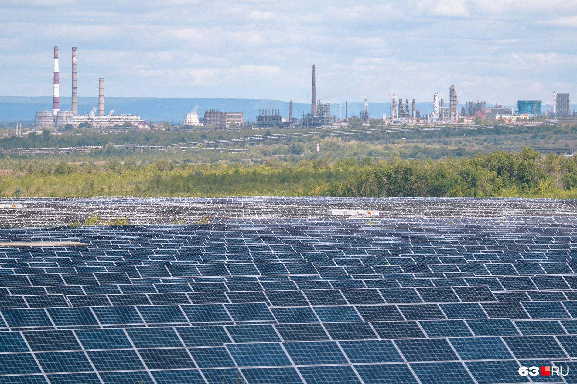 Солнечная энергия против атомной: даже выглядит приятнее