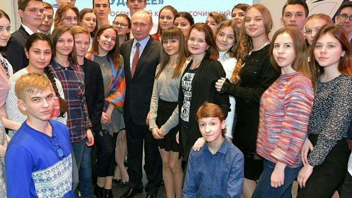 Красноярская школьница написала сочинение о здоровье молодёжи и попала на встречу с Путиным