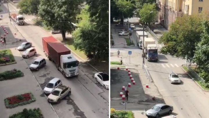 «Наметили, где будут стоять знаки»: жителям Народной пообещали ограничить движение шумных грузовиков