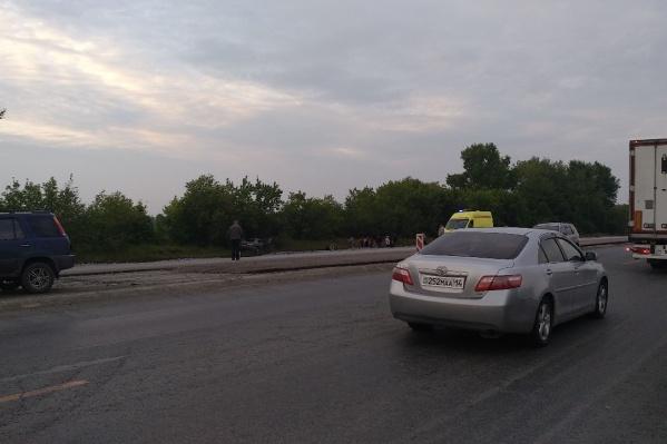 Водитель «Мазды» скончался на месте аварии