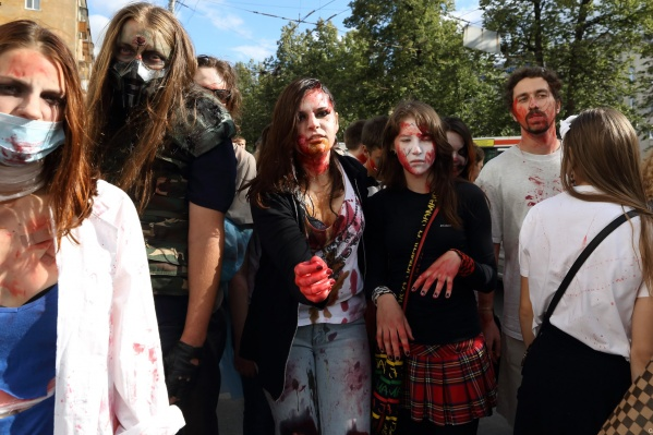 Парад зомби пройдет 5 августа