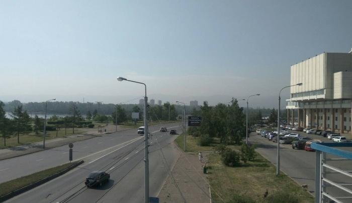 В Красноярске впервые за лето объявили режим «черного неба»