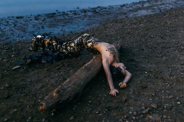 Одна из работ Алисы Калипсо «Камская русалка»