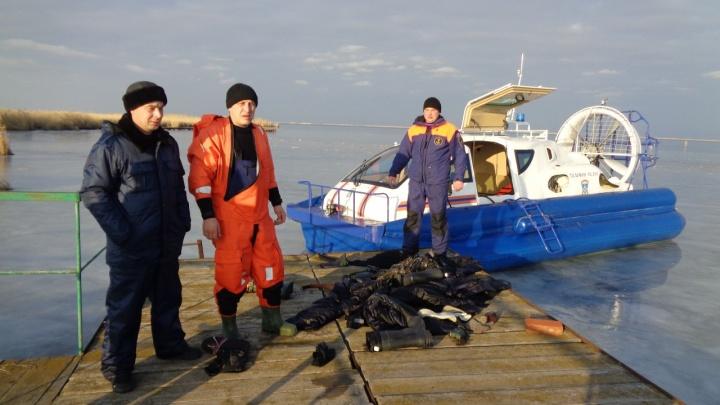 В Ростовской области спасли провалившихся под лёд людей