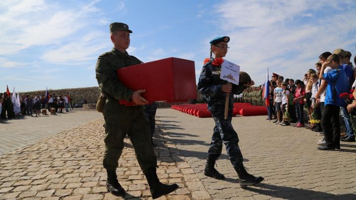 В Волгограде из-за ЧМ-2018 отложили массовое захоронение останков защитников Сталинграда