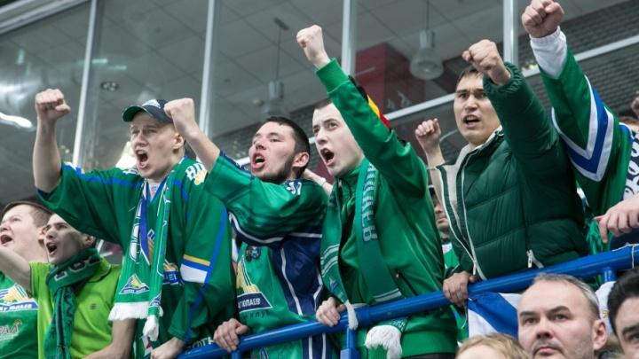 «Зеленое дерби»: уфимские хоккеисты сразятся с «Ак Барсом»