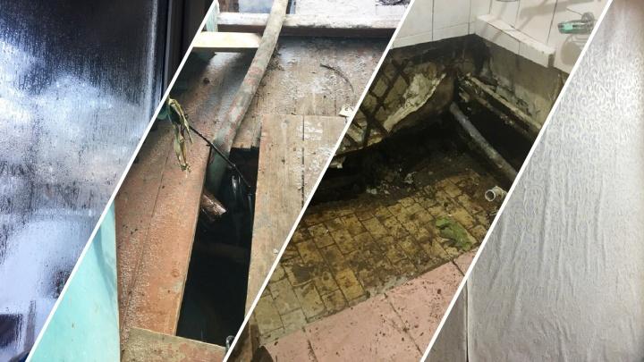 Жильцов аварийного дома на Лесобазе, где в Новый год топило подвал, отправили жить в гостиницу
