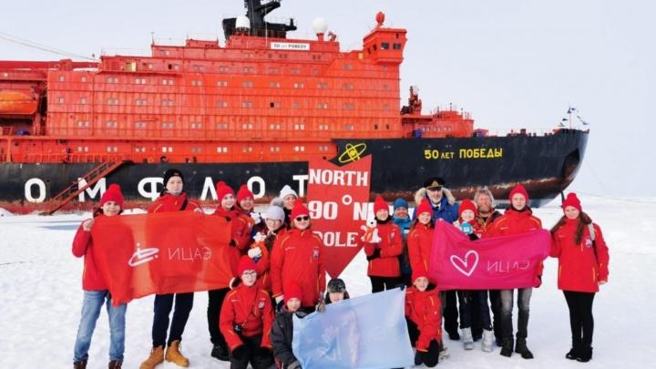 «Я видел моржей!»: школьник из Новосибирска доплыл на ледоколе до Северного полюса
