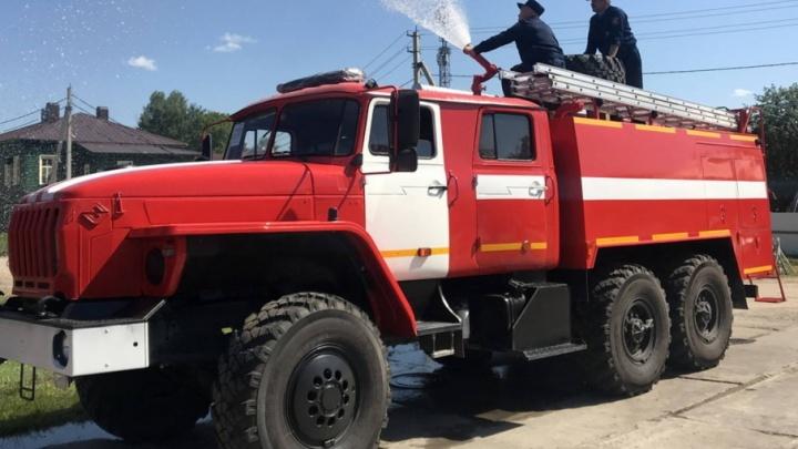 В разгар пожароопасного сезона в районы Поморья пришли новые «Уралы»