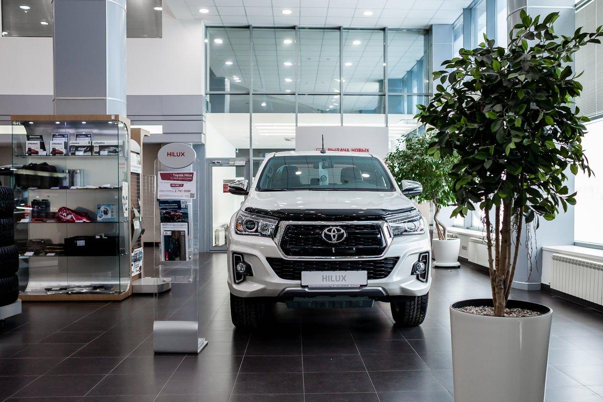 Только до конца февраля в «Тойота Центр Екатеринбург Юг» идет акция наToyota Hilux