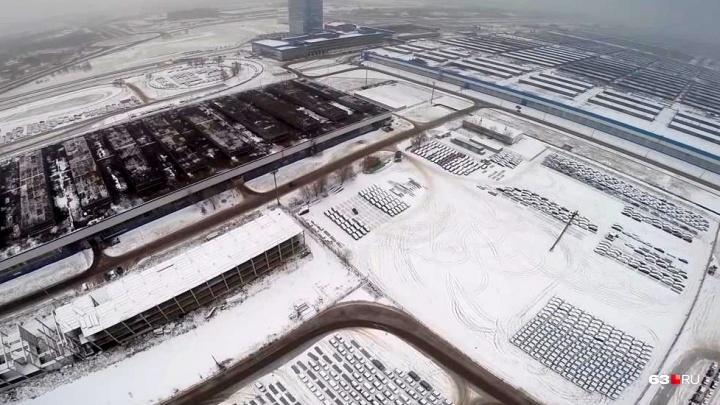 Из-за коммунальной аварии на АВТОВАЗе останавливали конвейеры