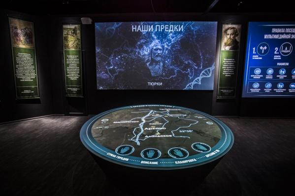 Один из залов новосибирского парка-музея