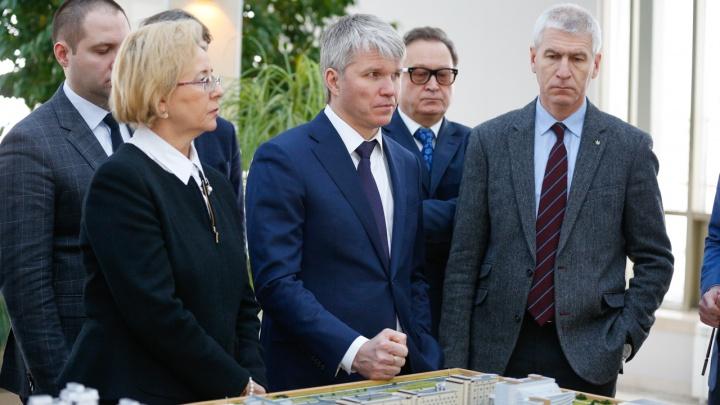 Министр спорта России решил на выходные приехать в Красноярск с проверкой