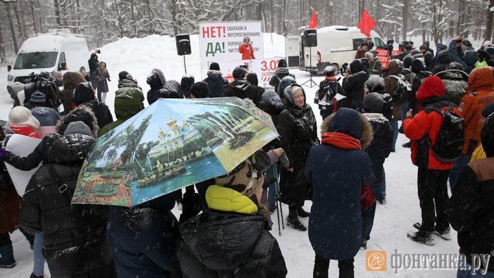 Петербуржцам не разрешили в центре города поддерживать жителей Архангельской области