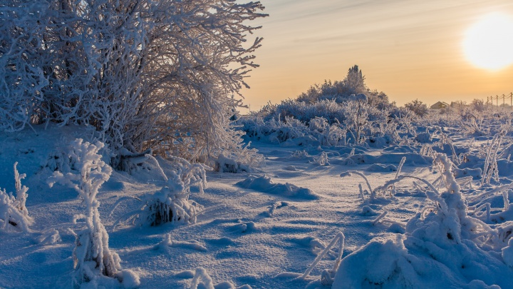 Арктическое вторжение: в Прикамье похолодает до -38 °С
