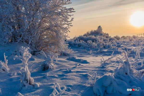 Сильные морозы продлятся несколько дней