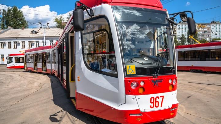 До «Самара Арены» пустят трамвай и два автобусных маршрута