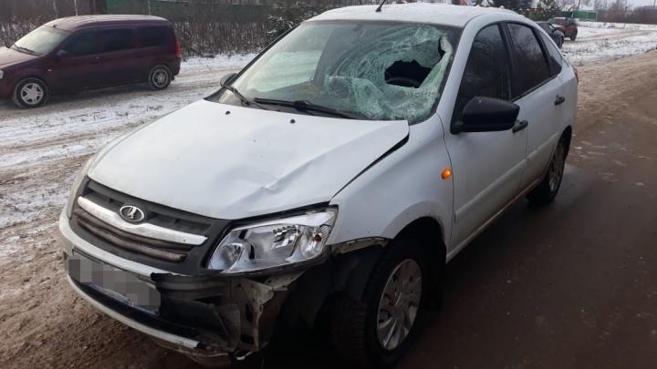 Житель Башкирии погиб под колесами «Лады-Гранты»