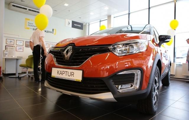 В автоцентре «Сатурн» состоялась мировая премьера Renault Kaptur
